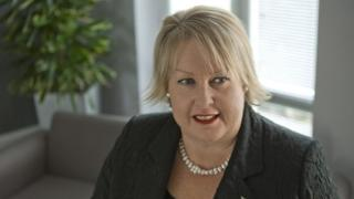 Vice-chancellor Wendy Purcell