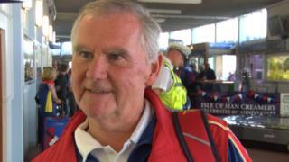 IoM Commonwealth Games Team Manger, Trevor Taubman