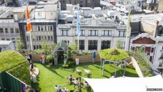 John Lewis roof garden