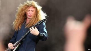 Megadeth guitarist Dave Mustaine