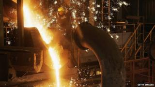 Rio Tinto iron smelter in Perth Australia