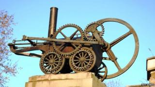 The Trevithick monument