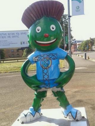 games mascot clyde