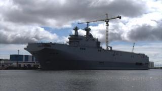 Vladivostok ship in Saint-Nazaire