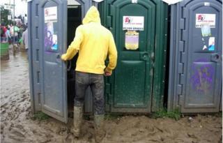 Festival portable toilet (generic)