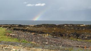 View of Scotland from Donaghadee