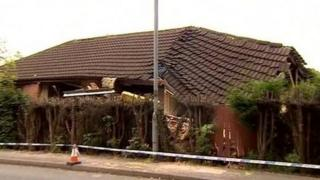 Blast house in Burbage, Leicestershire
