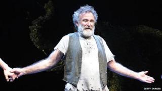 Robin Williams on Broadway in 2011