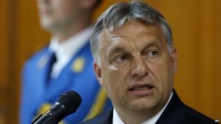 Hungary PM Viktor Orban - file pic