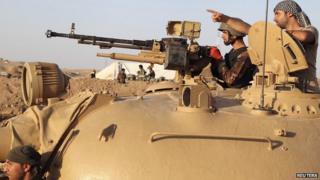 Kurdish Peshmerga fighters, 14 Aug 14