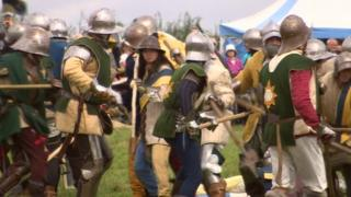 Battle of Bosworth re-enactment