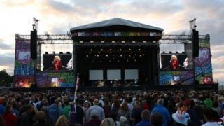 Blondie at V Festival 2014 at Hylands Park in Chelmsford