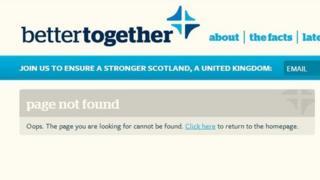 Better Together website