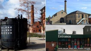 Kelham Island Museum/Elsecar Heritage Centre/Wakefield National Mining Museum