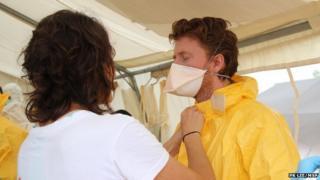 Dr Gabriel Fitzpatrick, Medecins Sans Frontieres