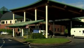 The baby was born in the Causeway Hospital in Coleraine