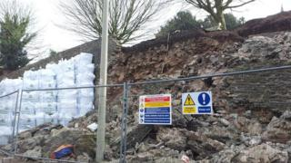 Ludlow wall collapse