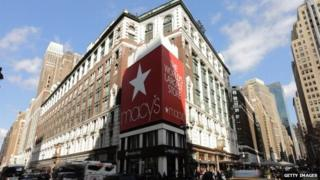 The Macy's store at Herald Square in Manhattan
