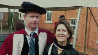 Tim Moorhead and wife Sheila