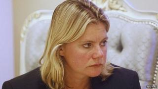 International Development Secretary Justine Greening