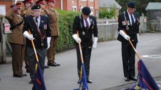VC ceremony at Lockerley and East Dean Memorial Hall