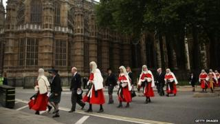 Judges procession at Westminster marks start of legal year