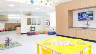 Children's Heart Unit play facility