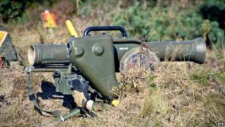 Milan weapon - file pic