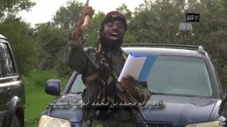 The leader of the Nigerian Islamist extremist group Boko Haram, Abubakar Shekau
