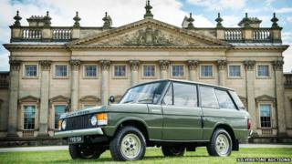 First ever Range Rover, chassis no.1