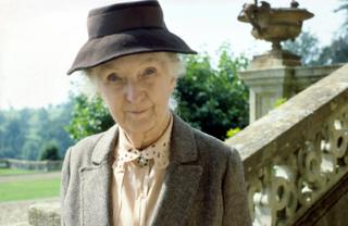 Joan Hickson as Miss Marple