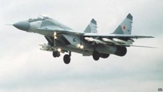 Russian MiG 29