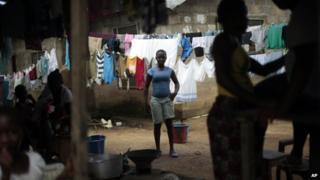 Monrovia, Liberia 26 Sept 2014