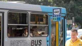 Bus in Havana