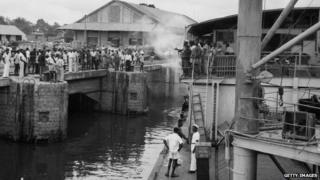 Kinshasa in 1955