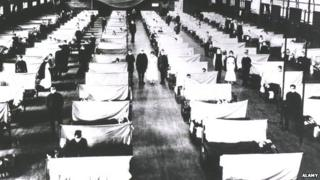 US gym converted into hospital