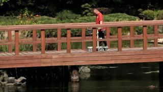 Darek on bridge