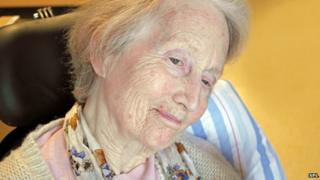 Generic image of elderly woman