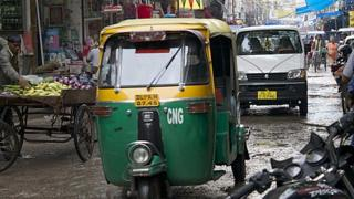 Auto-rickshaw in Delhi