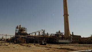 A general view of a Baiji oil refinery in Baiji, north of Baghdad, September 11, 2014.