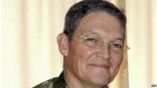Brig Gen Ruben Dario Alzate Mora