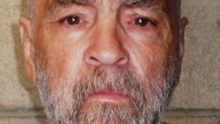 Handout photo from the California Department of Corrections and Rehabilitation, Charles Manson, on 18 March 2009 at Corcoran State Prison, California.