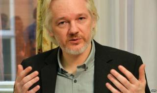 Julian Assange - August 2014