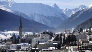 Davos village