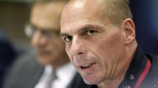 Yanis Varoufakis is in Berlin attempting to renegotiate Greece's debt