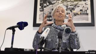 IMF's Christine Lagarde