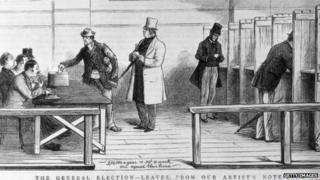 A newspaper sketch of the general elections of 1880