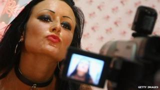Porn filming