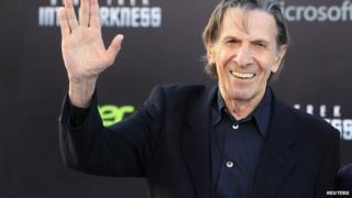 Picture of actor Leonard Nimoy