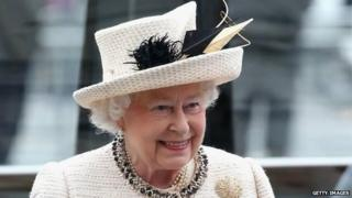 The Queen attends the Observance for Commonwealth Day Service At Westminster Abbey